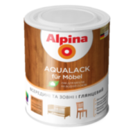 Alpina Aqualack fur Mobel мебельный лак